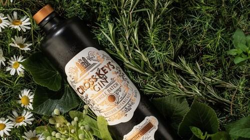 Cross Keys Gin (PRNewsfoto/Amber Beverage Group)