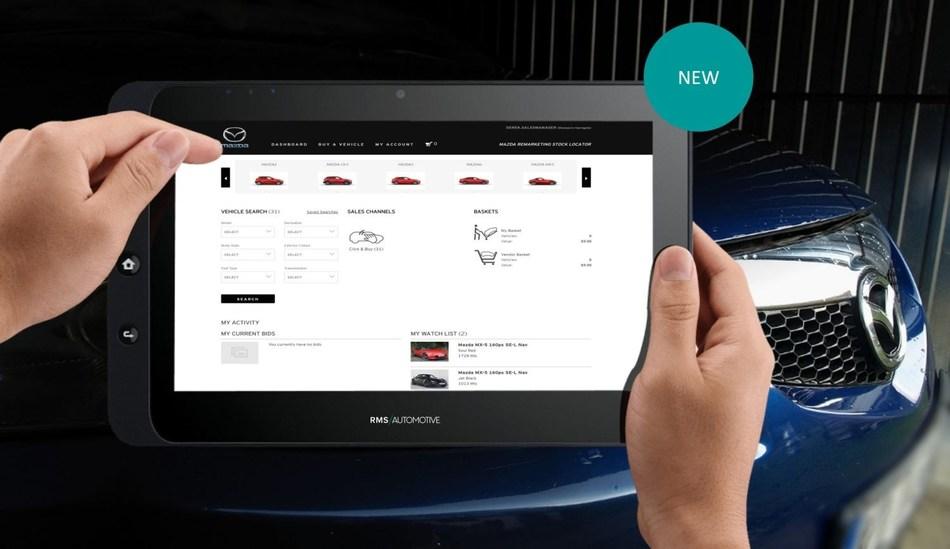 Mazda Dealer Portal Source: RMS Automotive (PRNewsfoto/RMS Automotive)
