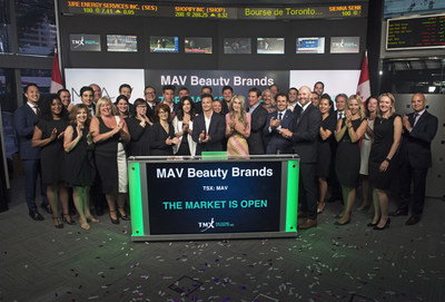 MAV Beauty Brands Inc. Opens the Market (CNW Group/TMX Group Limited)