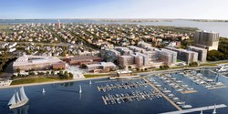 Rendering of Fore Points Marina, Portland, Maine, USA