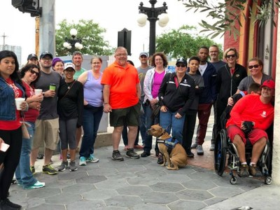 Warriors and guests toured Tampa's historic Ybor City during a recent Wounded Warrior Project® event. The area is rich with crime history and the sorted exploits of notorious public enemies.