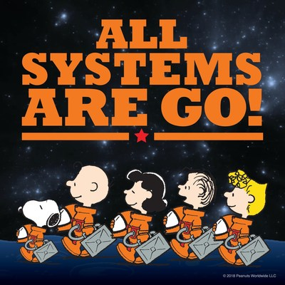 NASA and Peanuts Worldwide announced today the signing of a multi-year Space Act Agreement, building on a historic partnership that began during the Apollo missions of the 1960s, (CNW Group/DHX Media Ltd.)
