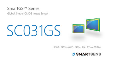 SmartSens Launched SC031GS: World's First 300,000-pixel BSI Global Shutter CMOS Image Sensor