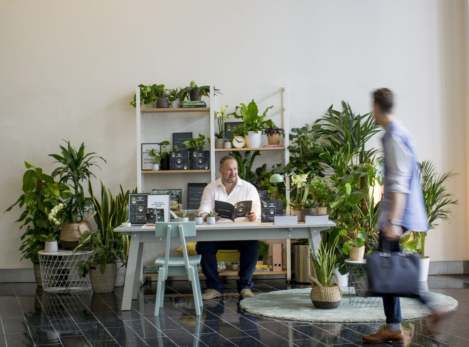 Plants@work promotes Plants for Wellbeing in the workplace (PRNewsfoto/Plants@Work Ltd)
