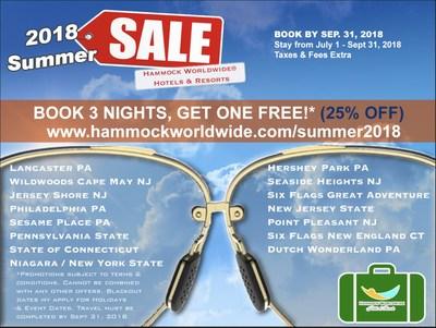 2018 Hammock Worldwide® Hotels & Resorts Summer Sale