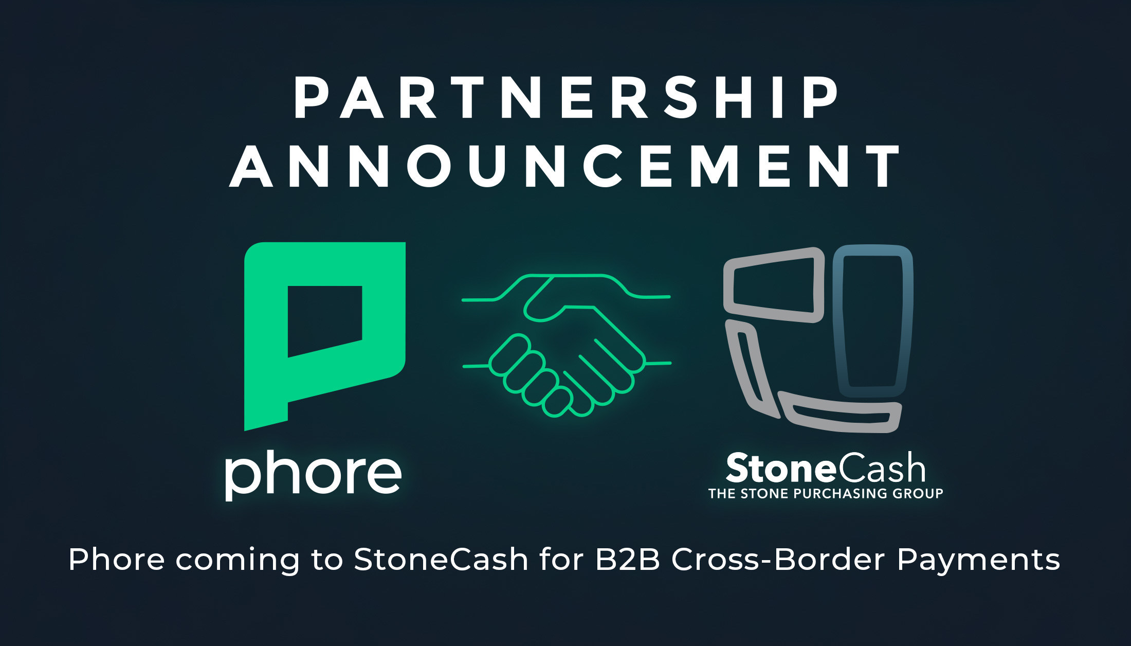Phore Blockchain and StoneCash Announce Partnership Agreement.