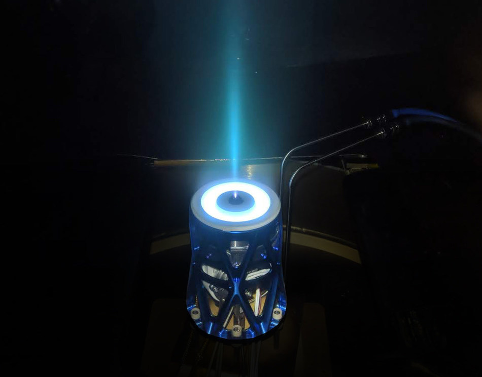 Apollo Constellation Engine is a new electric propulsion system for satellites with high thrust to power and 3x more impulse per mass and volume than competitors.