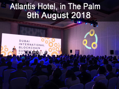 Speaking session of Dubai International Blockchain Summit
