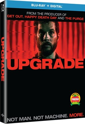 From Universal Pictures Home Entertainment: Upgrade