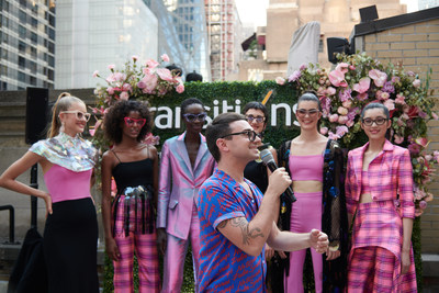 Transitions Optical partnered with brand ambassador Christian Siriano to launch a new line of lens color choices and fashionable mirror effects. Photo taken on Tuesday, July 10, 2018 in New York. (Loren Wohl/AP Images for Transitions Optical, Limited) (PRNewsfoto/Transitions Optical)