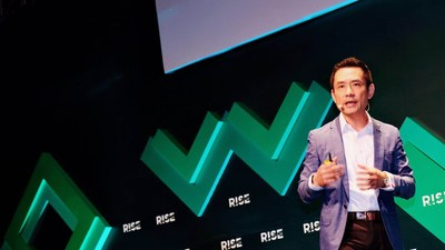 PA Tech CEO Ericson Chan speaks at RISE