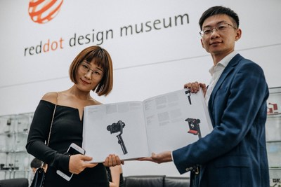 Behind the Design: ZHIYUN with CRANE 2 at the Red Dot Award Ceremony