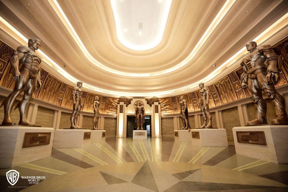 Justice League - Hall of Justice (PRNewsfoto/Warner Bros. World Abu Dhabi)