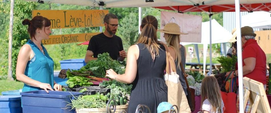 Du 9 au 19 août, une soixantaine d'activités aura lieu dans près de 30 marchés publics dans le cadre de la 10e  édition de la Semaine québécoise des marchés publics. (Groupe CNW/Union des producteurs agricoles)
