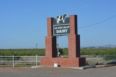 Entrance to Las Uvas Dairy