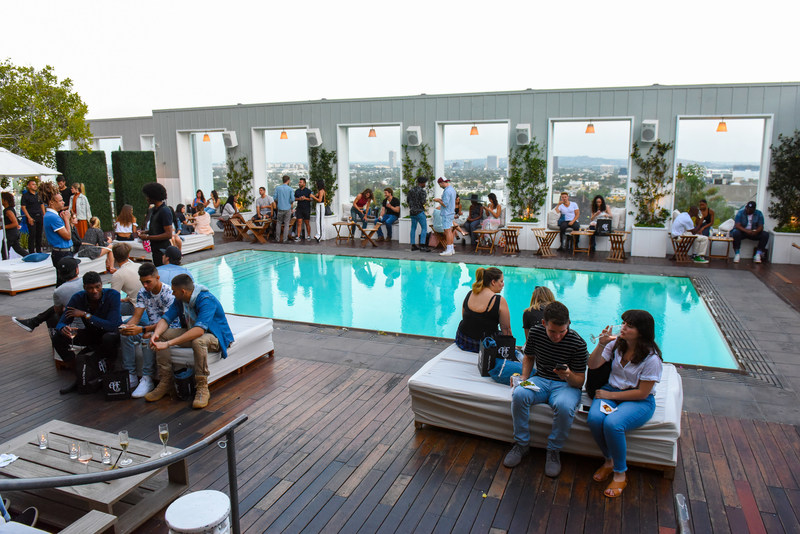 A&F's DO IT IN DENIM launch hosted on July 10th at MONDRIAN LOS ANGELES, an sbe property