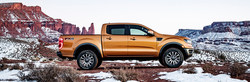 Available for reservation and pre-order at James Braden Ford, the 2019 Ford Ranger gives drivers the capability and configurability of Canada's Favourite pickup truck, the Ford F-150, in a mid-size package.