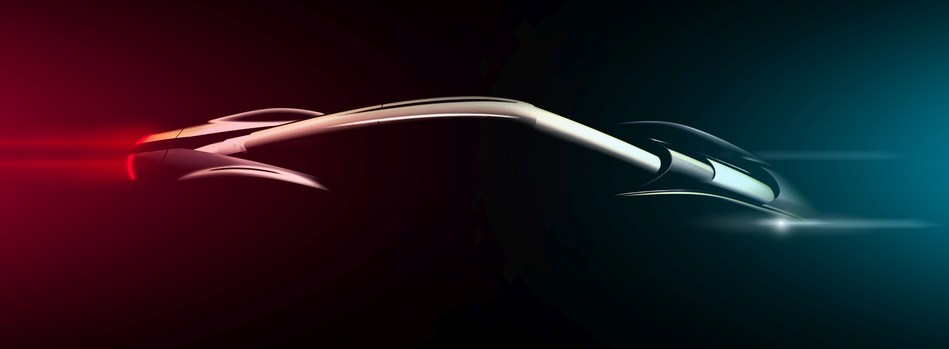Automobili Pininfarina PF0 Design Intent Sketch 1 (PRNewsfoto/Automobili Pininfarina)