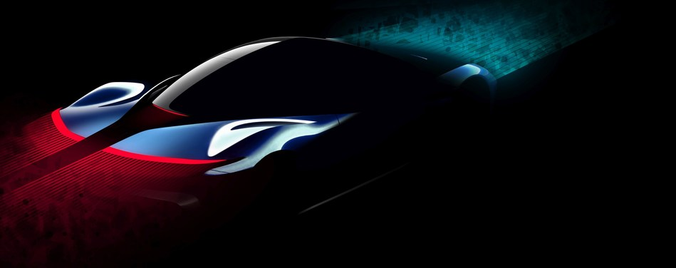 Automobili Pininfarina PF0 Design Intent Sketch 3 (PRNewsfoto/Automobili Pininfarina)