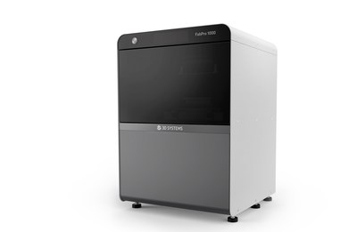The new FabPro 1000 entry level industrial 3D Printer from 3D Systems.