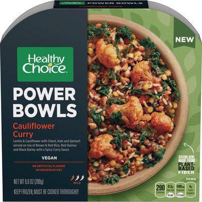 Vegan cauliflower – Healthy Choice has launched two new vegan varieties of their popular Power Bowls line
