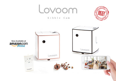 Launching next-generation pet camera, Lovoom T20, created for the pet parents on Amazon