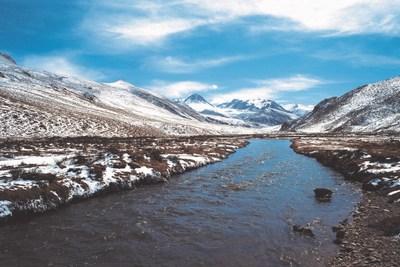 A Reserva Natural Nacional de Sanjiangyuan, a mais importante fonte de água doce da China, há muito é reconhecida como lar de raras espécies do planalto tibetano, como o antílope tibetano, ameaçado de extinção. (PRNewsfoto/GAC Motor)