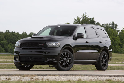 2019 Dodge Durango GT now shares a performance front fascia and LED fog lamps with R/T and SRT models while an SRT-inspired performance hood is available.