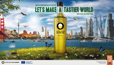 Olive Oils from Spain and the European Union Make a Splash in America with the ?Olive Oil World Tour? (PRNewsfoto/Olive Oils from Spain)