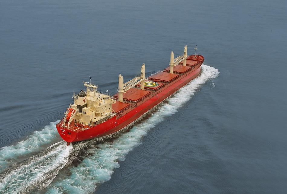 Fednav's newest addition to its fleet. (CNW Group/Fednav Ltd.)