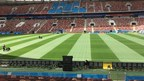 SIS Pitches staff prepare the pitch at the Luzhniki Stadium in Moscow (PRNewsfoto/SIS Pitches)