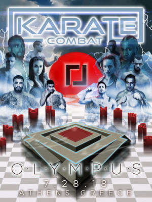 Karate Combat: Olympus brings full contact karate live from Athens, Greece on July 28th, 2018.