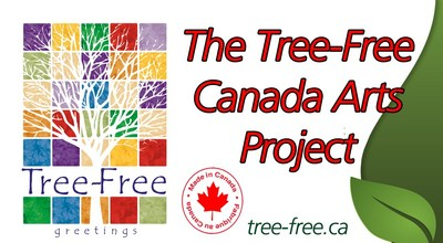 The Tree-Free greeting card company is releasing works from Canadian artists for a new line of designs celebrating Canada. (CNW Group/Tree-Free Greeting Cards Canada)