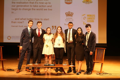 Nord Anglia Education students share their ideas for implementing the Sustainable Development Goals at the United Nation's High Level Political Forum.