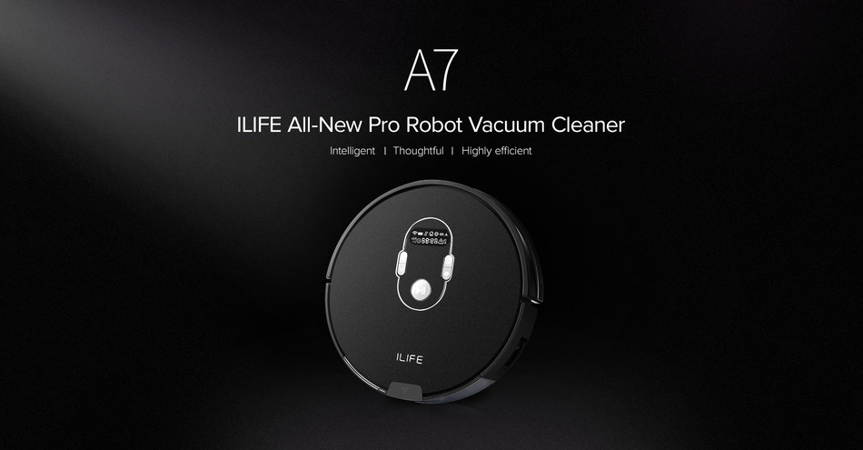 "Intelligent, thoughtful and highly efficient, A7 is a ""Robot Cleaner with Senses""."