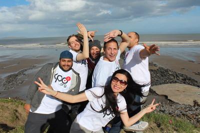 Team XPO² on a recent work-leisure summit in Dublin, Ireland.