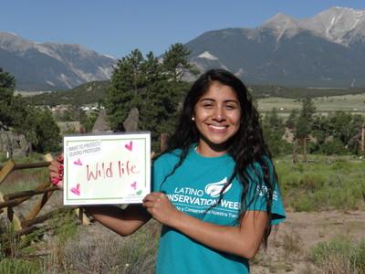 Se llevan a cabo en todo el país más de 100 eventos en celebración de 'Latino Conservation Week'. Encuentre uno cerca de usted en http://www.latinoconservationweek.com. (PRNewsfoto/Hispanic Access Foundation)