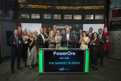 PowerOre Inc. Opens the Market (CNW Group/TMX Group Limited)
