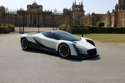 Dendrobium D-1 electric-hypercar to debut at Salon Privé in September (PRNewsfoto/Dendrobium Automotive Limited)