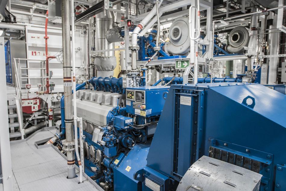 Salle des machines (Groupe CNW/Chantier Davie Canada Inc.)