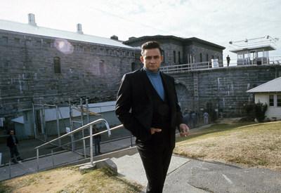 Johnny Cash outside Folsom Prison, 1968 © Jim Marshall Photography