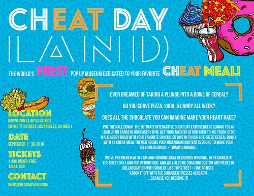 Join us for Cheat Day Land LA!