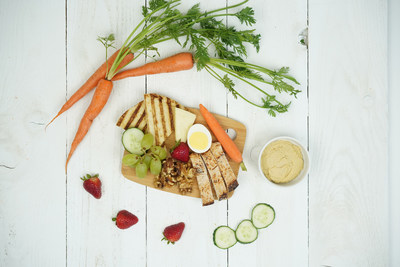 Charge Up Protein Platter is part of Alaska Airlines' new seasonally-inspired main cabin menu that launched today and features fresh, local ingredients