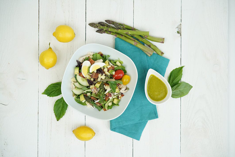 West Coast Cobb Salad is part of Alaska Airlines' new seasonally-inspired main cabin menu that launched today and features fresh, local ingredients.