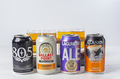 Alaska Airlines will feature a rotating craft beer menu as part of the new main cabin menu that will rotate with the seasons and feature local West Coast breweries