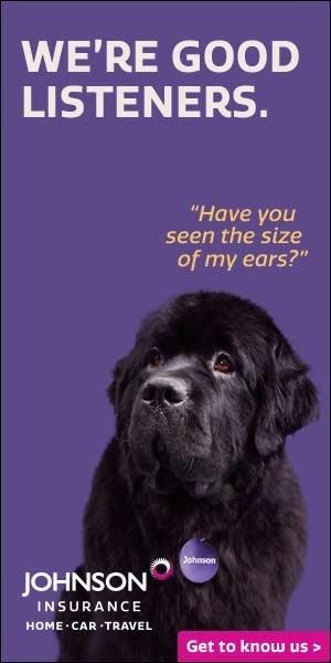Johnson the Dog ad (CNW Group/Johnson Insurance)