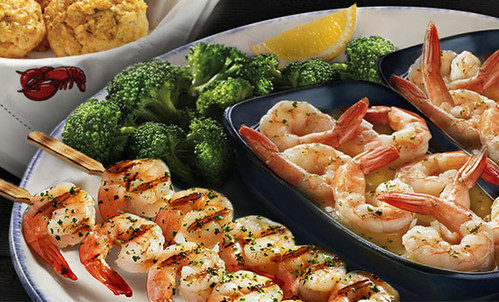 Red Lobster is offering Early-Dining Specials, including Endless Shrimp Mondays from 11 a.m. to 6 p.m.