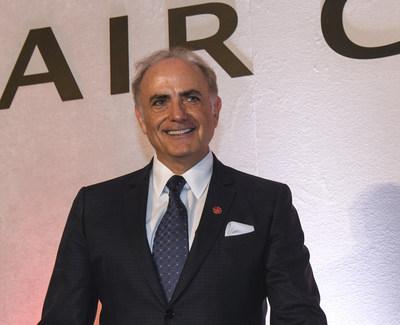 Calin Rovinescu, président et chef de la direction d'Air Canada, remporte le prix « leadership du premier dirigeant » aux Airline Strategy Awards de 2018 (Groupe CNW/Air Canada)