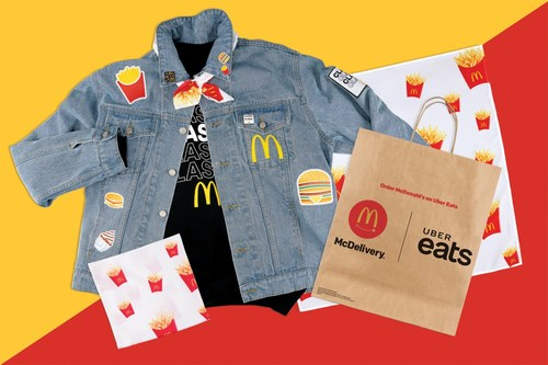 McDonald's® Canada marks one year of delivering delicious moments with McDelivery™. Eligible Adult residents living where McDelivery is available have a chance to win a piece of '90s-inspired swag through a social contest on July 19. (CNW Group/McDonald's Canada)