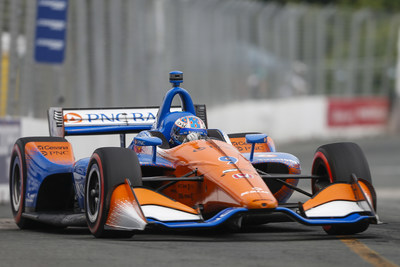 Scott Dixon scored his third Verizon IndyCar Series victory of the season — and the seventh for Honda — Sunday at the Honda Indy Toronto.